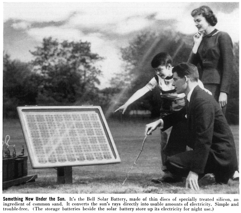 Khái niệm năng lượng mặt trời