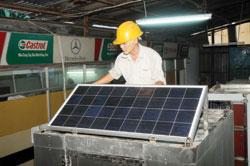 điện mặt trời nối lưới