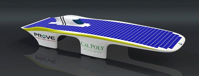 Chiếc xe năng lượng mặt trời