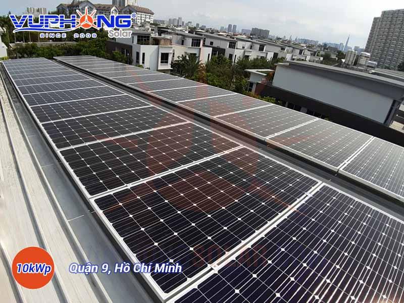 Điện mặt trời áp mái hộ gia đình