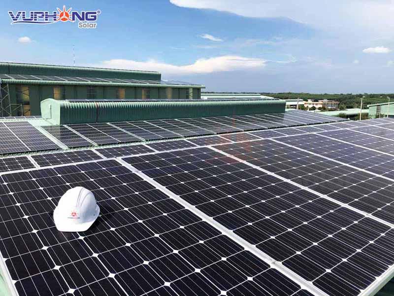 Suất đầu tư 1MW điện mặt trời ngày càng được nhiều doanh nghiệp lựa chọn